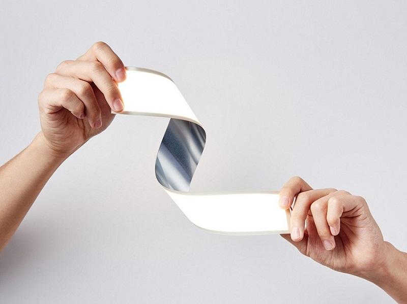 LG flexibele OLED lamp