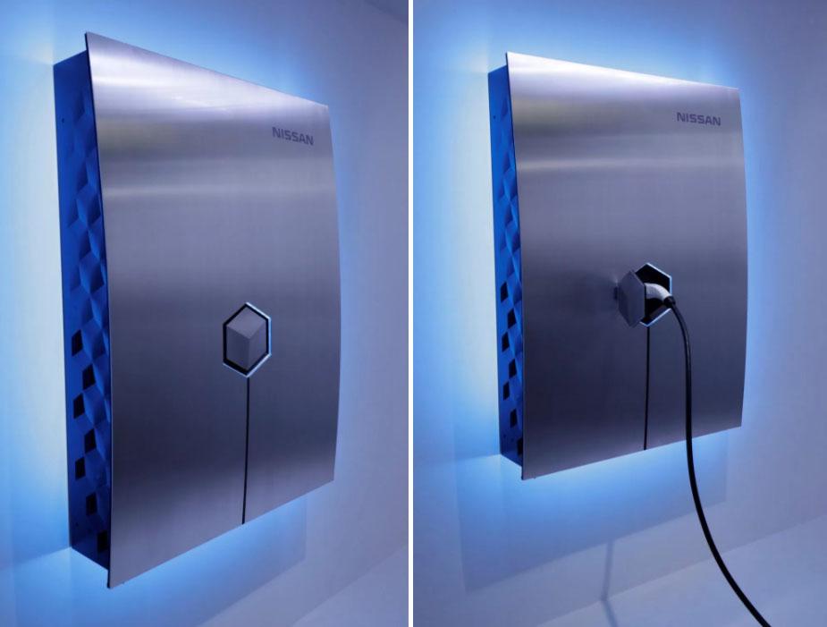 Nissan xStorage voor elektrische auto's