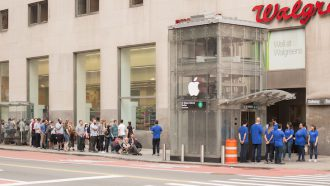Apple Store grap
