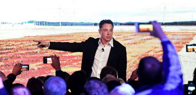 Elon Musk elektrische