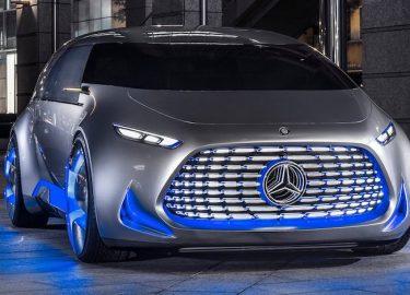 Tesla Mercedes Elektrische auto's
