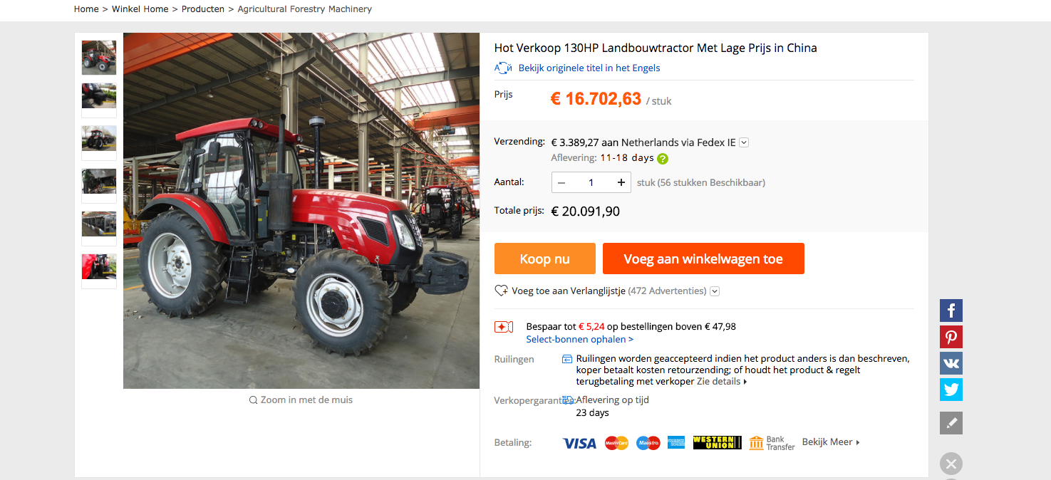 Tractor AliExpress
