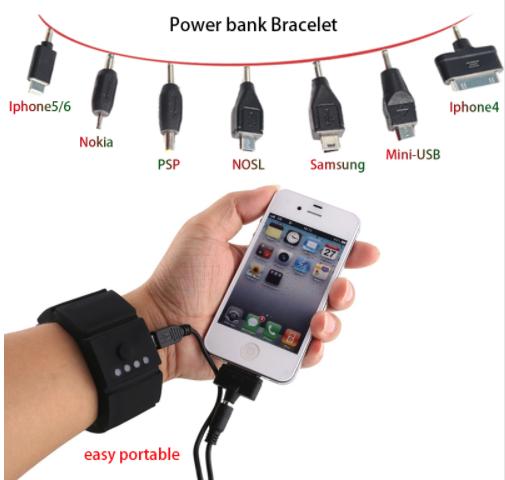 Powerbank armband AliExpress