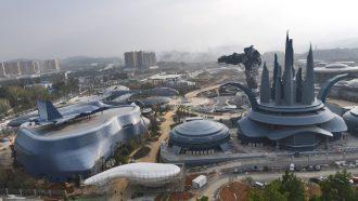 VR pretpark in China