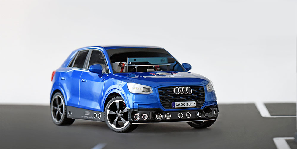 Audi Autonomous Driving Cup wedstrijd