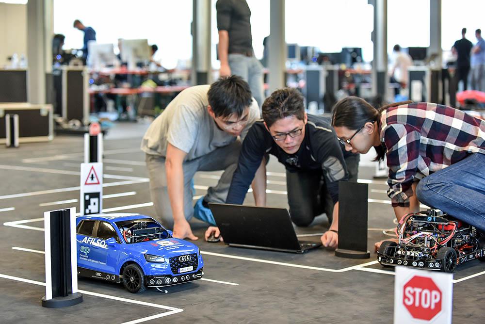 Audi Autonomous Driving Cup 2017 testevent