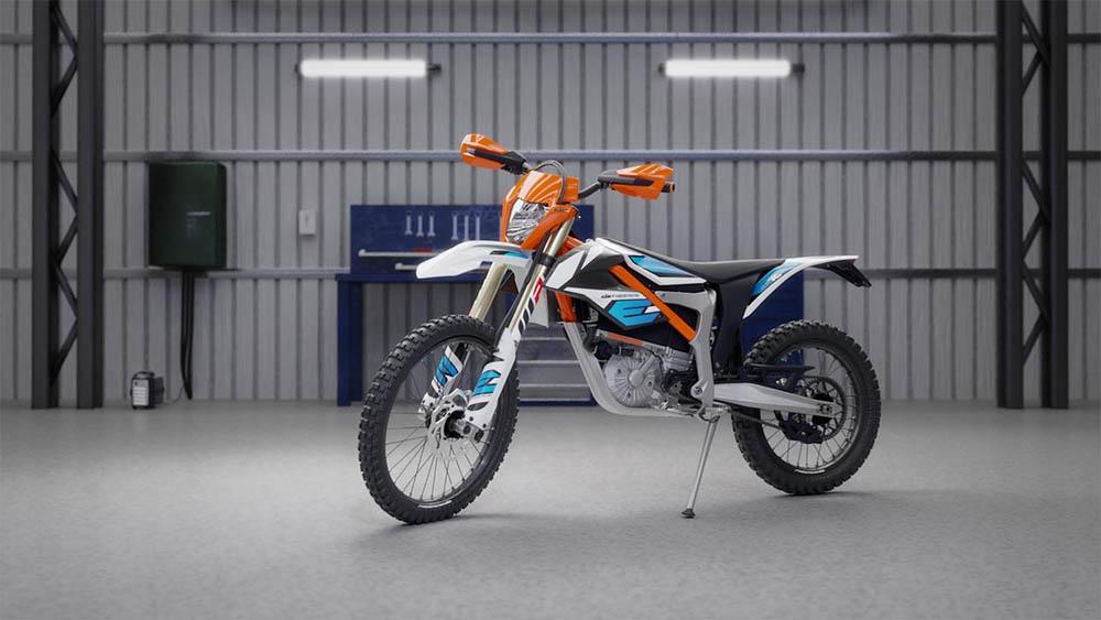 KTM Freeride E-XC motorfiets