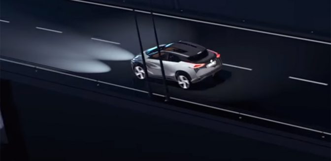 Elektrische Nissan met Canto geluidje