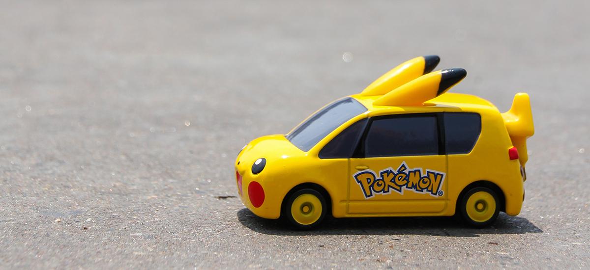 Pokémon Go auto ongelukken