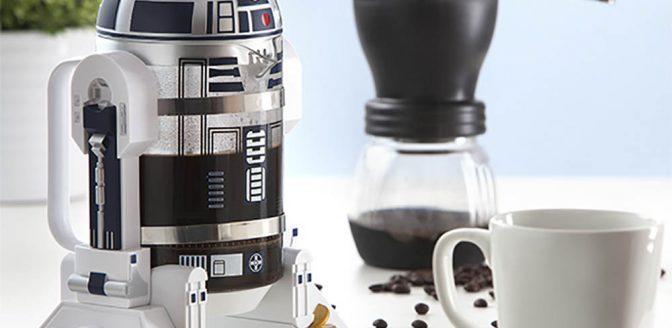 R2D2 koffiezetapaaraat