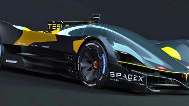 Tesla Le Mans concept