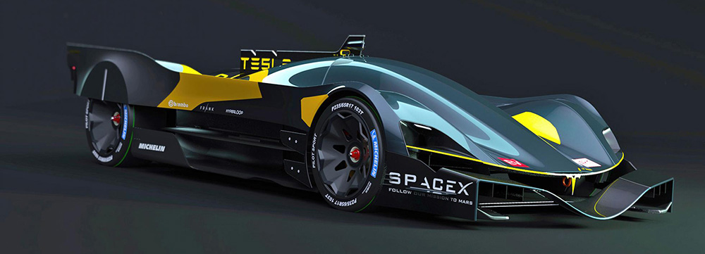 Maak Kennis Met De Tesla Le Mans Raceauto Van Belgische