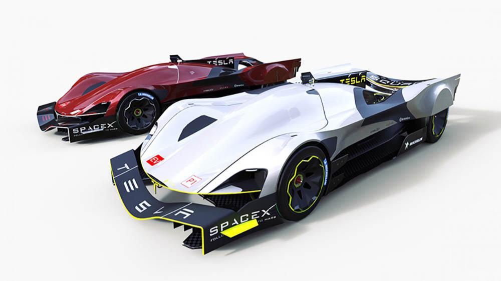 Tesla le Mans