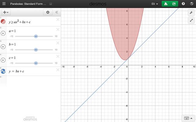 Desmos Graphic Calculator