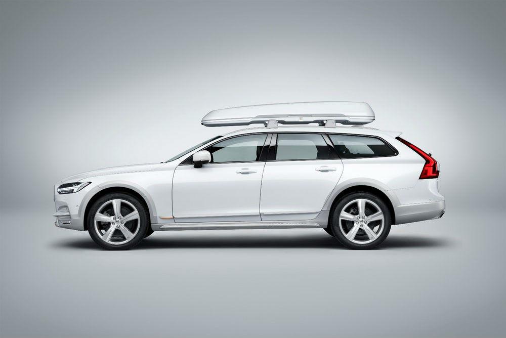Volvo gebruikt voor het interieur van de V90 plastic afval ...