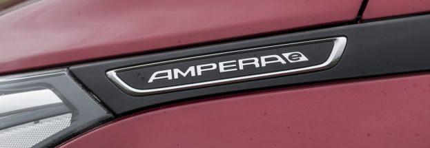 Opel Ampera-e review logo