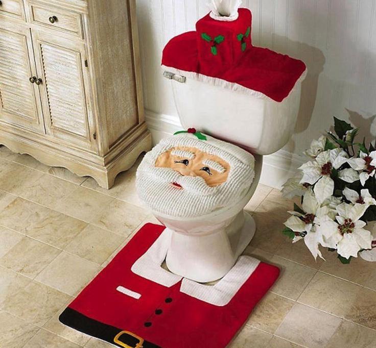 Kerstmis toilet