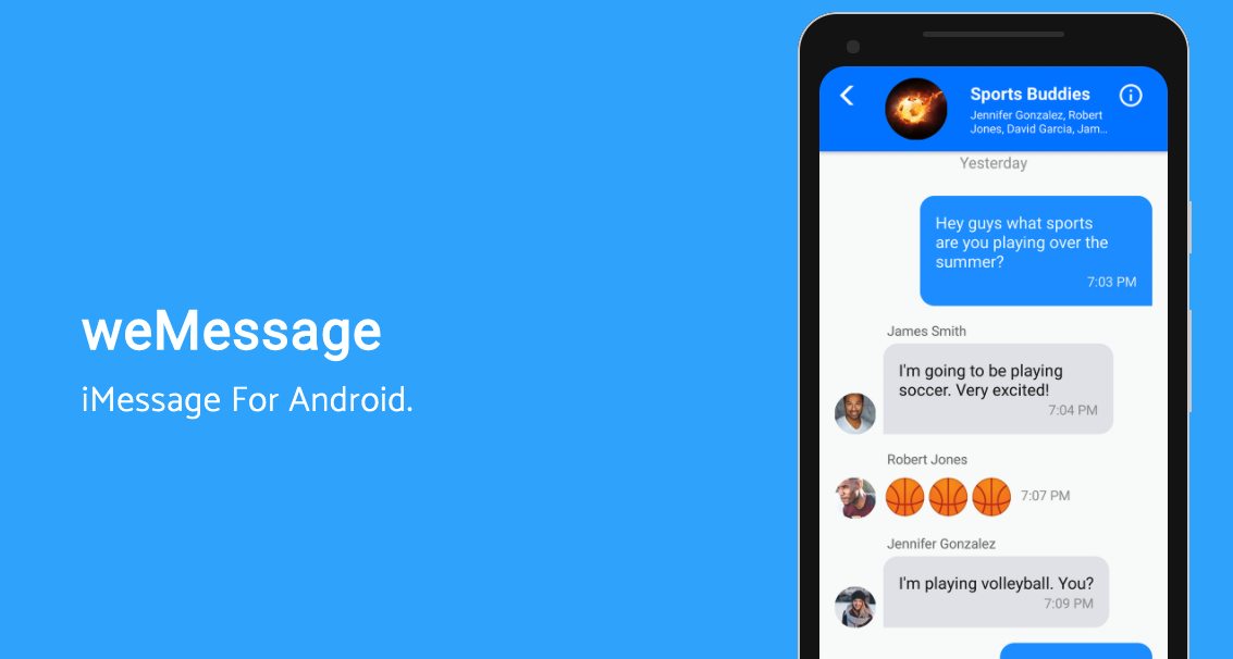 iMessage App Android