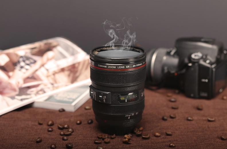Koffiemok camera