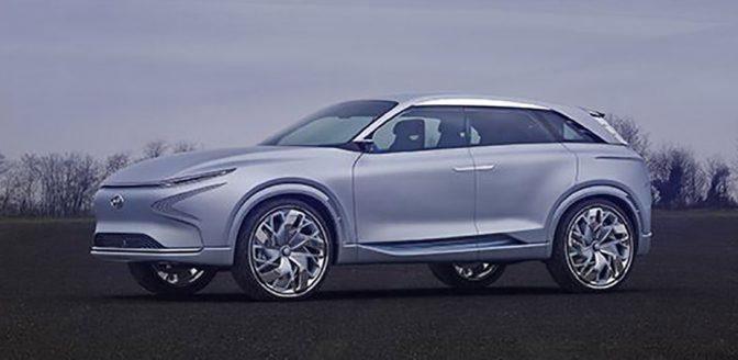 Hyundai FE Fuel Cell Concept waterstofauto