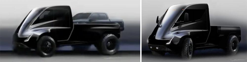 Tesla Pickup truck vs Tesla Semi