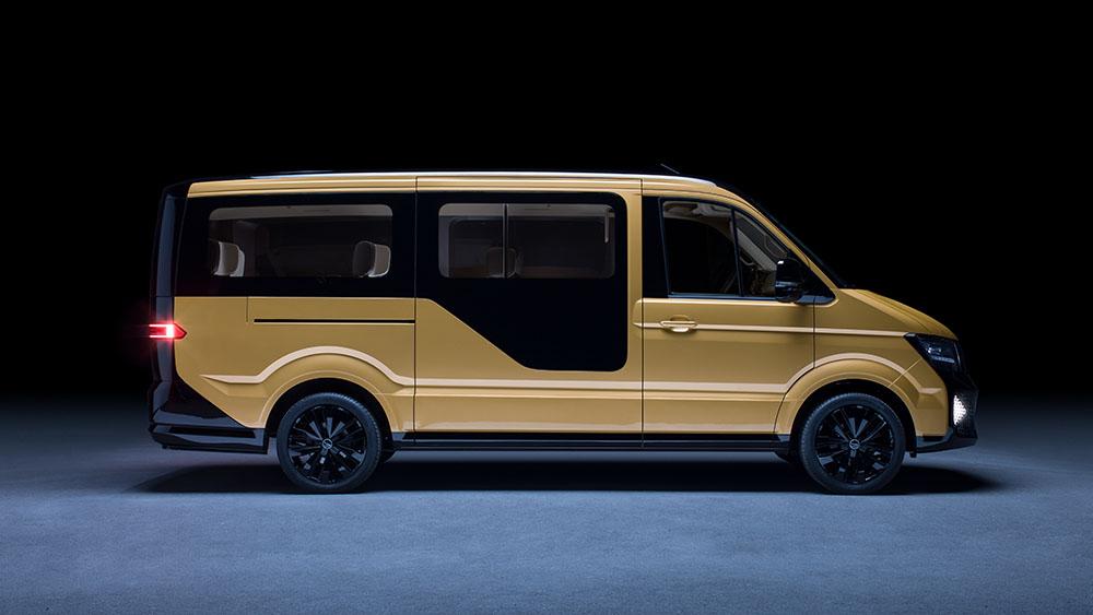 Volkswagen elektrische minibus