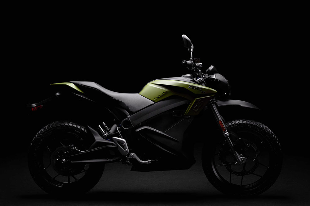 Zero DS: elektrische motorfiets waarmee je alle terreinen trotseert ...