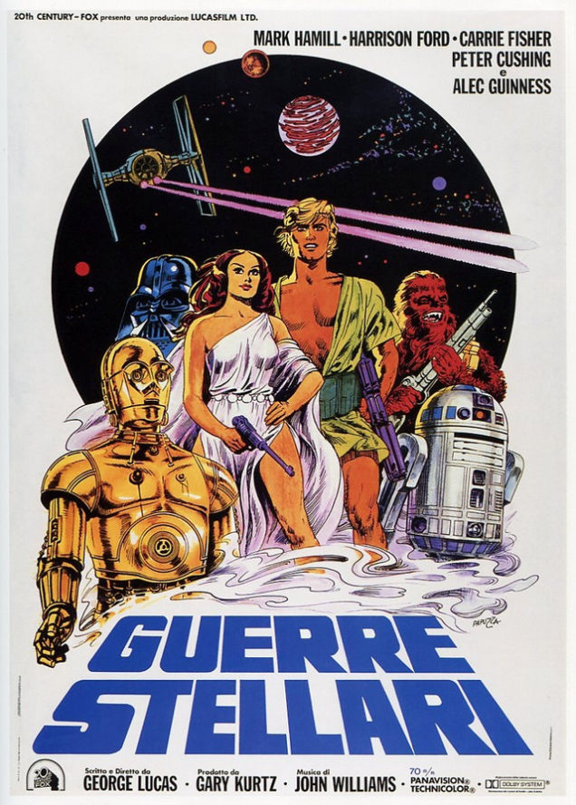 Star Wars filmposter