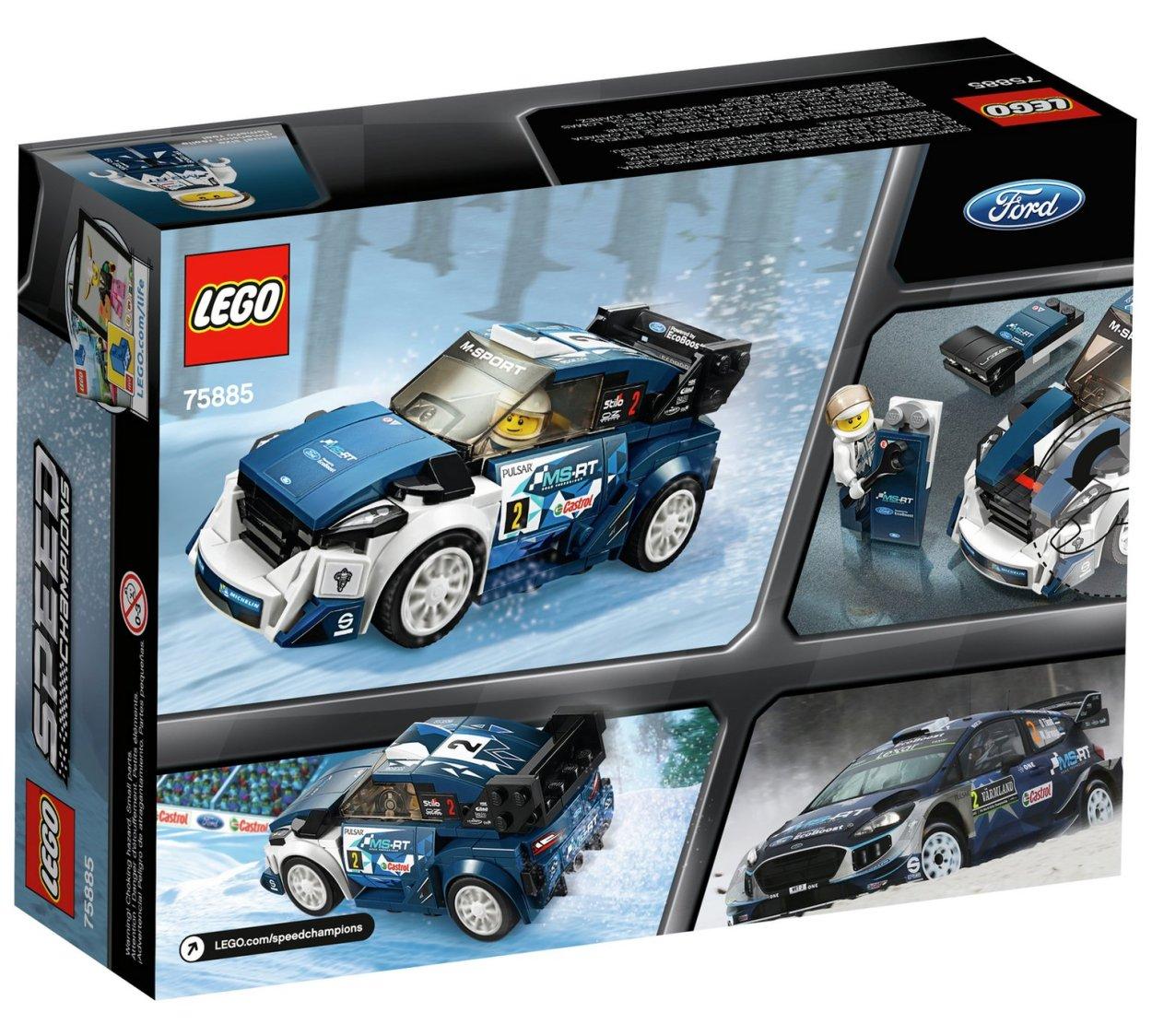 Ford Fiesta Wrc 2018 >> Voor de racefans: de nieuwe 2018 LEGO Speed Champions-sets - WANT