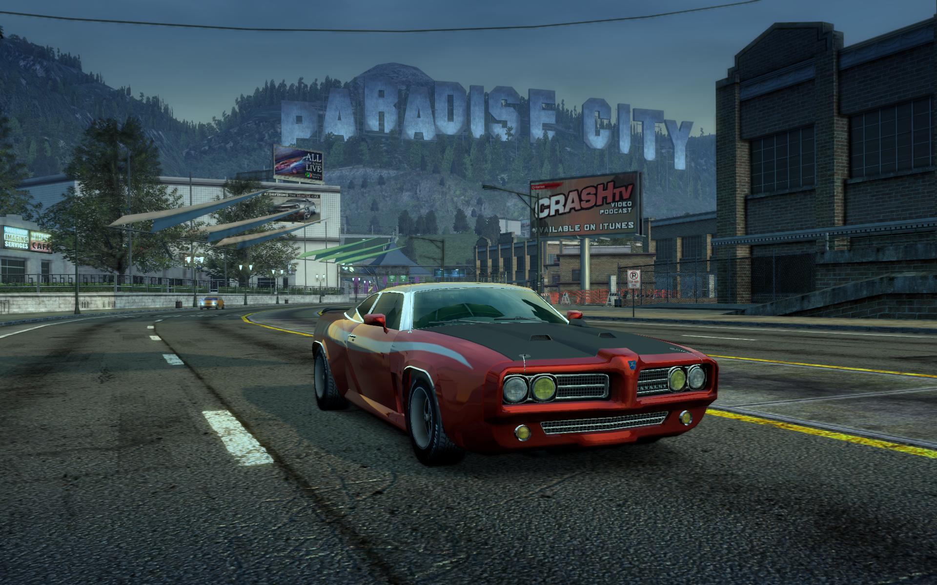 Burnout Paradise HD Remaster