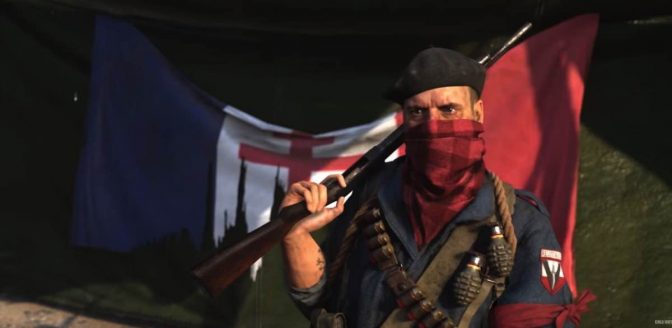Call of Duty WWII Resistance