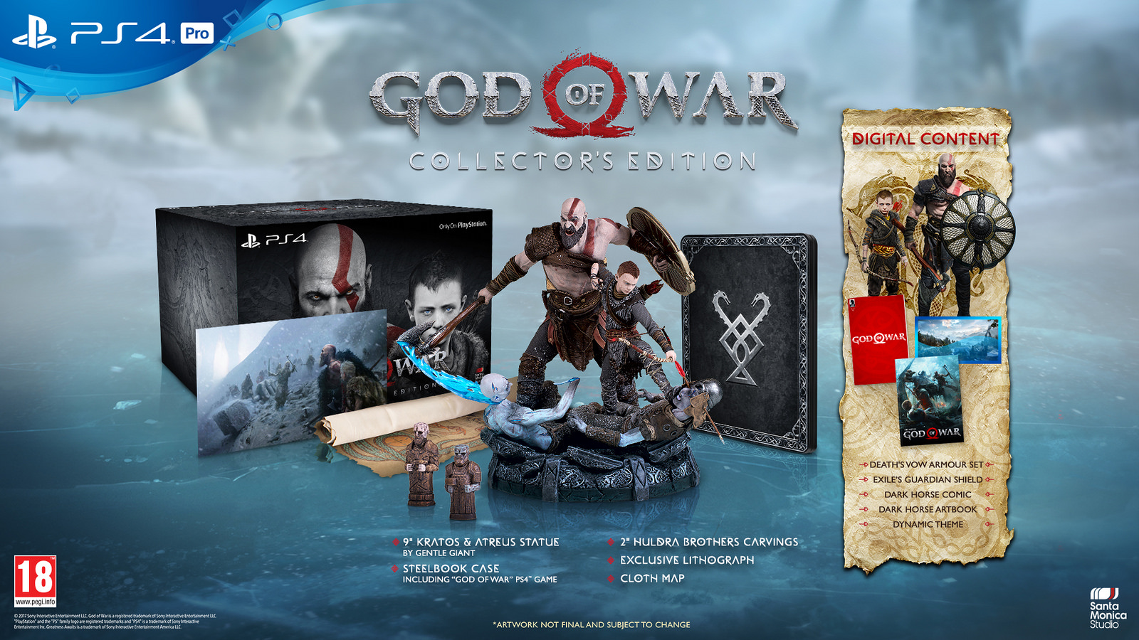 god of war ps4 pro limited edition