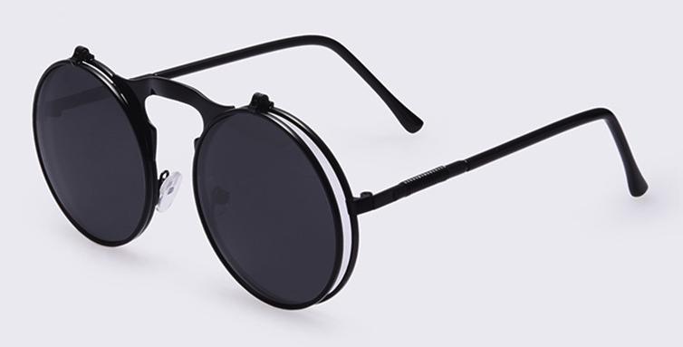Vintage Steampunk Designer zonnebril