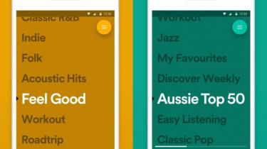 Spotify Stations playlists