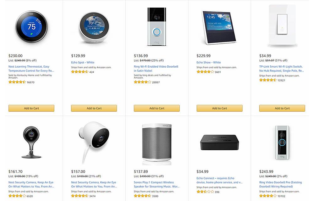 Amazon Echo apparaten