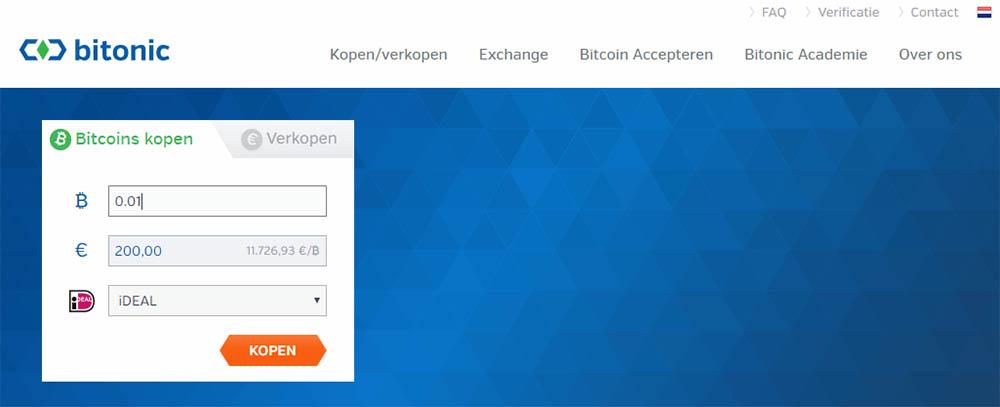 Bitonic bitcoin bedrijf