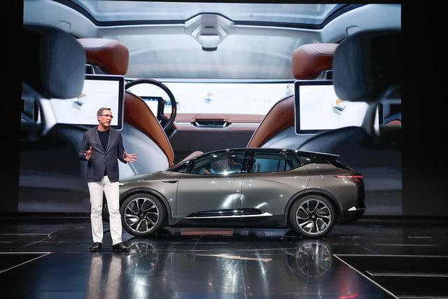 Byton elektrische concept auto