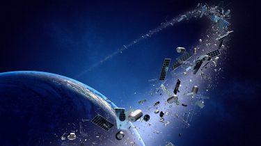 Ruimteafval ruimte China