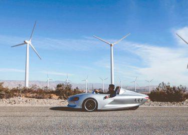 Ampere One Betaalbare Elektrische Auto Met Drie Wielen Want