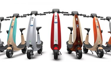 Ford OjO elektrische scooter