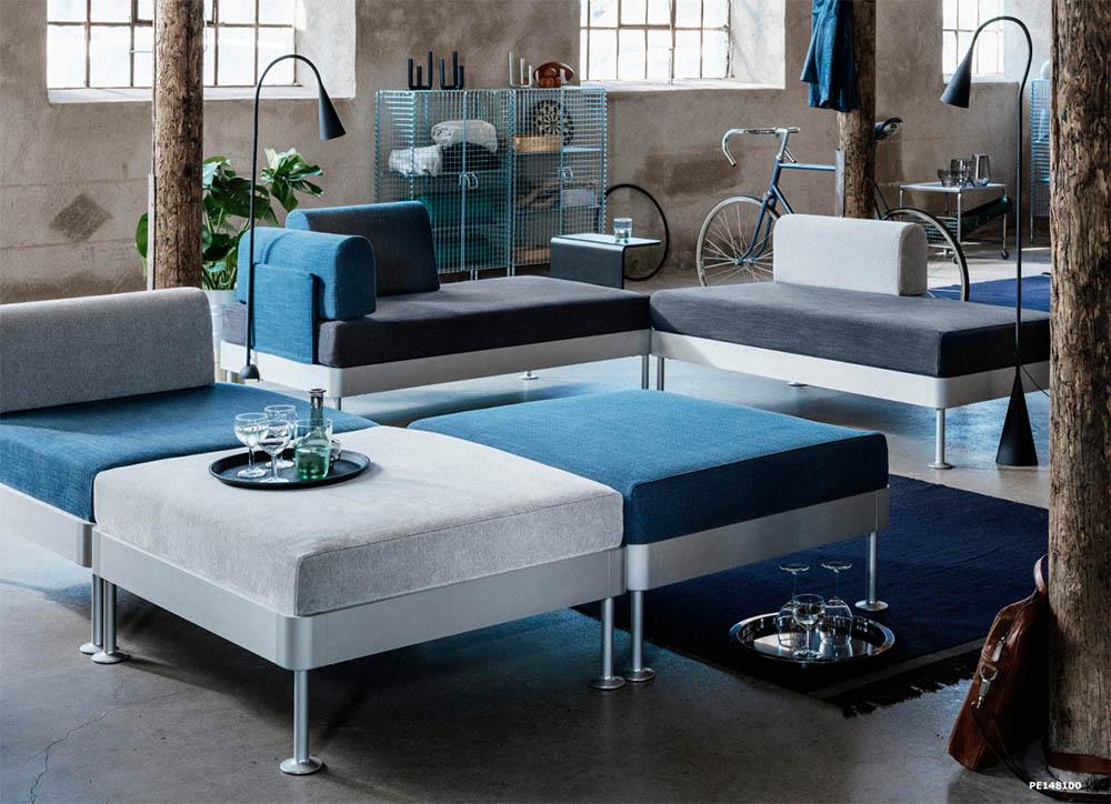 Ikea lanceert modulaire banken voor ultiem mix match plezier want