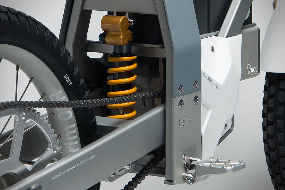 Kalk elektrische crossmotor