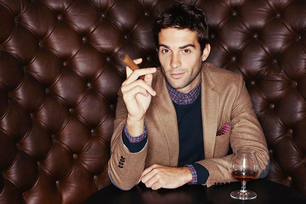 man sigaar
