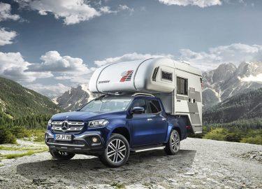 Camper Badkamer Wasbak : Mercedes komt met high tech pickup trucks om mee te kamperen want