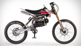 Motoped Pro mountainbike crossmotor