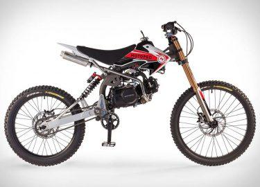 Motoped Pro mountainbike crossmotor