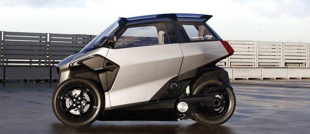 Peugeot Komt Na Elektrische Auto S Ook Met Elektrische Driewieler Want