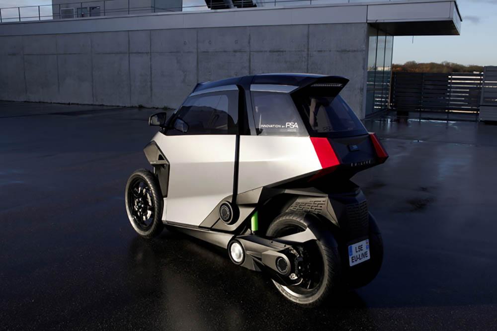Peugeot driewieler