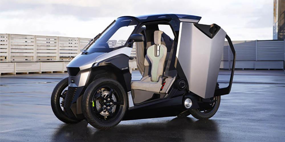 Verrassend Peugeot komt na elektrische auto's ook met elektrische driewieler KR-79