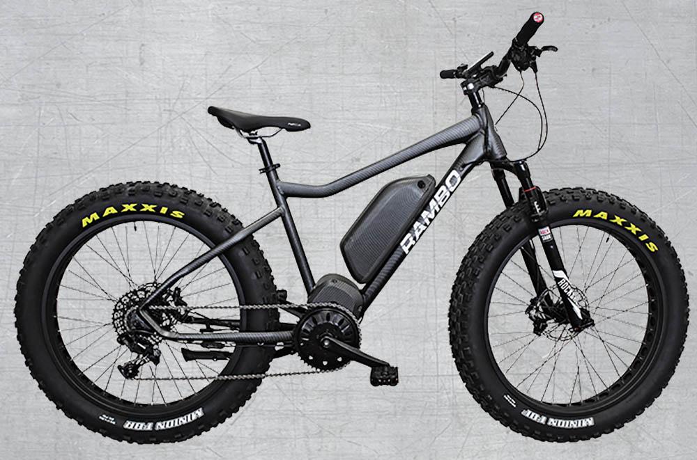 Rambo X1000XP Extreme Power Bike elektrische fiets